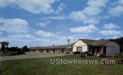 Motel McNeive - Detroit, Michigan MI Postcard