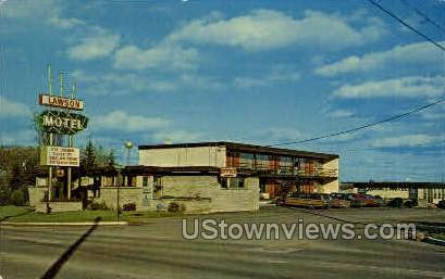 Lawson Motel - Sault Ste Marie, Michigan MI Postcard
