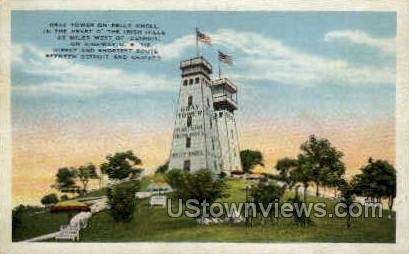 Grey Tower, Kelly Knoll - Detroit, Michigan MI Postcard