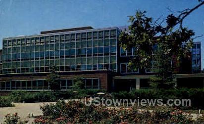The Library, Michigan State University - Lansing Postcard
