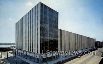 U.S. Post Office - Detroit, Michigan MI Postcard