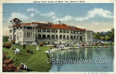 Caniso - Detroit, Michigan MI Postcard
