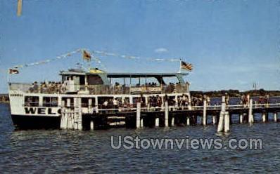 Hiawatha Cruise Boat - Sault Ste Marie, Michigan MI Postcard