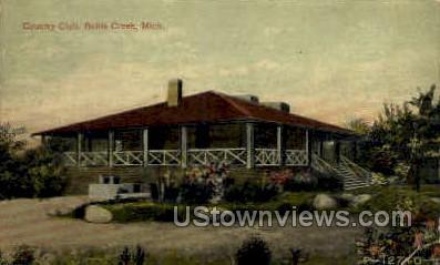 Country Club - Battle Creek, Michigan MI Postcard
