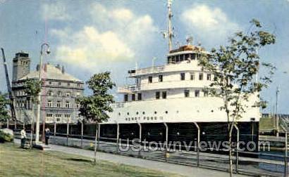 The Henry Ford II - Sault Ste Marie, Michigan MI Postcard