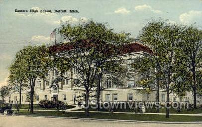Easter High School - Detroit, Michigan MI Postcard