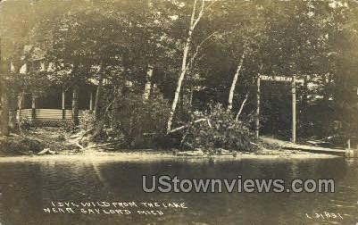 Idyll Wild, Lake - Gaylord, Michigan MI Postcard