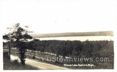 Otsego Lake - Gaylord, Michigan MI Postcard