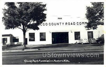 Otsego Rodd Commission - Gaylord, Michigan MI Postcard