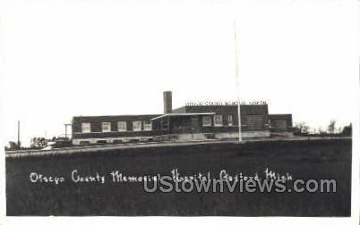 Otsego County Memorial Hospital - Gaylord, Michigan MI Postcard