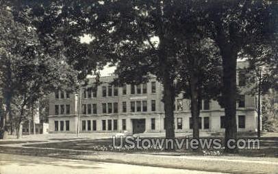High School, Niles - Michigan MI Postcard