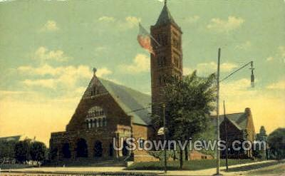 First Congregational Church - Detroit, Michigan MI Postcard