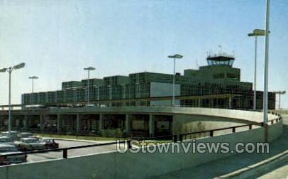 Detroit Metro Airport - Michigan MI Postcard