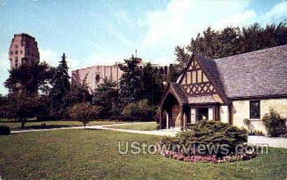 Shrine of the Little Flower - Royal Oak, Michigan MI Postcard
