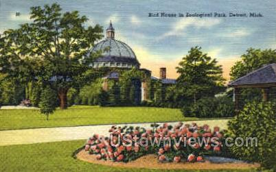 Zoological Park - Detroit, Michigan MI Postcard