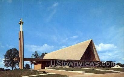 St. Paul Lutheran Church - Albion, Michigan MI Postcard