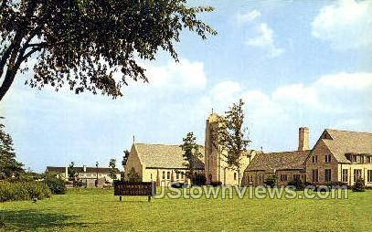 St. Martha's Episcopal Church - Detroit, Michigan MI Postcard
