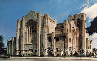 Metro United Methodist Church - Detroit, Michigan MI Postcard