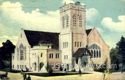 Highland Park Presbyterian Church - Detroit, Michigan MI Postcard