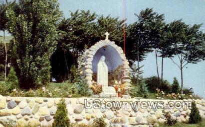 Our Lady of Fatima Shrine - Alpine, Michigan MI Postcard