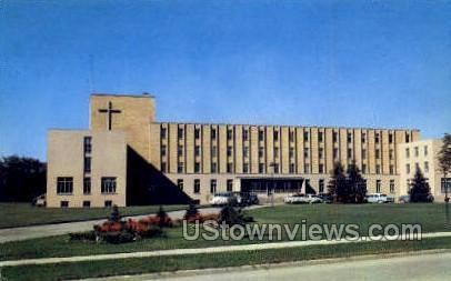 St. Joseph Hospital School Nursing - Flint, Michigan MI Postcard