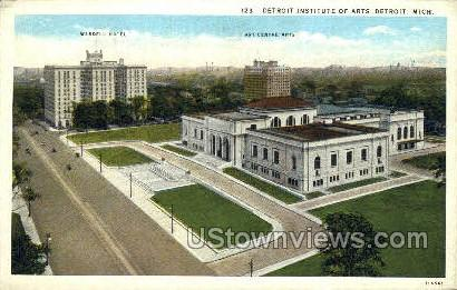 Detroit Institute of Arts - Michigan MI Postcard