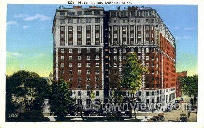 Hotel Tuller - Detroit, Michigan MI Postcard