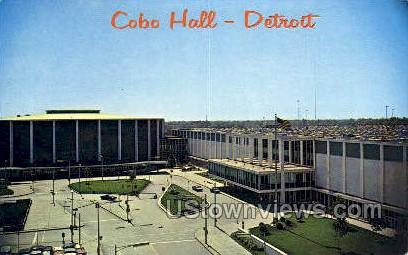 Cobo Hall - Detroit, Michigan MI Postcard