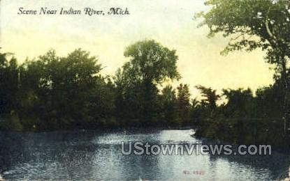 Indian River, Michigan, MI, Postcard