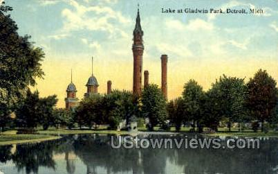 Galdwin Park - Detroit, Michigan MI Postcard
