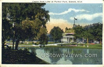 Casino, Palmer Park - Detroit, Michigan MI Postcard