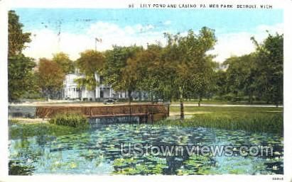 Palmer Park - Detroit, Michigan MI Postcard