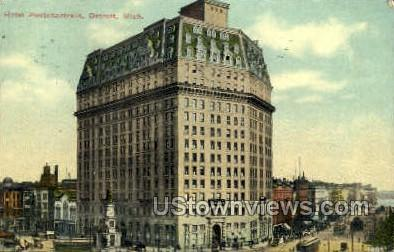 Hotel Pontchartrain - Detroit, Michigan MI Postcard
