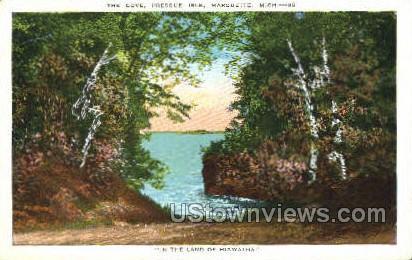 The Cove, Presque Isle - Marquette, Michigan MI Postcard