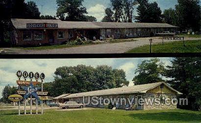 Laskey's North Star - Tawas City, Michigan MI Postcard