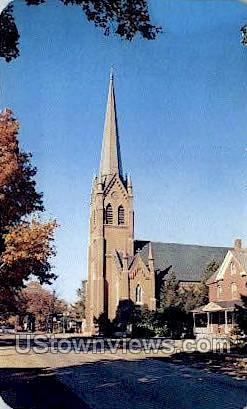 St. Mary's Catholic Church - Niles, Michigan MI Postcard