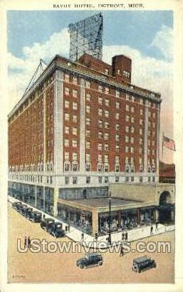 Savoy Hotel - Detroit, Michigan MI Postcard