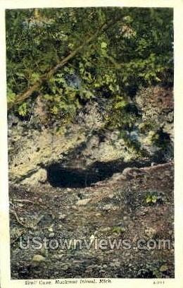Skull Cave - Mackinac Island, Michigan MI Postcard
