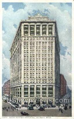 David Whitney Bldg - Detroit, Michigan MI Postcard