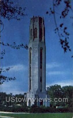 Nancy Brown Peace Carillon - Detroit, Michigan MI Postcard
