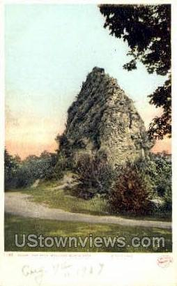 Sugar Loaf Rock - Mackinac Island, Michigan MI Postcard