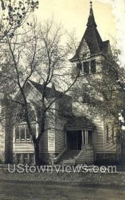 M.E. Church - Gaylord, Michigan MI Postcard