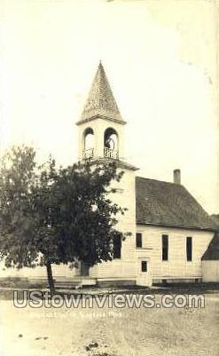 Baptist Church - Gaylord, Michigan MI Postcard