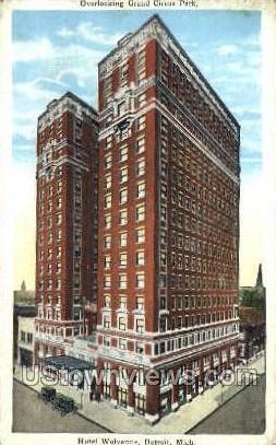 Hotel Wolverine - Detroit, Michigan MI Postcard