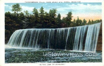 Tahquamenon Falls - Sault Ste Marie, Michigan MI Postcard
