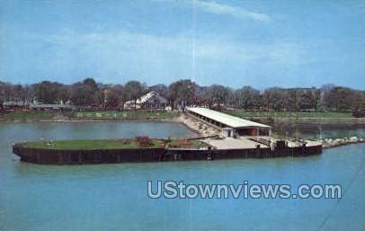 Great Lakes - Detroit, Michigan MI Postcard