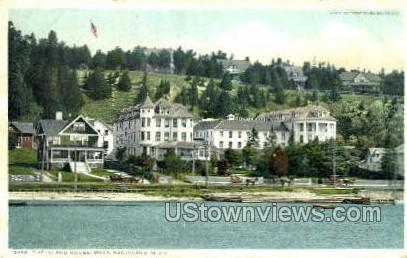 Island House - Mackinac Island, Michigan MI Postcard
