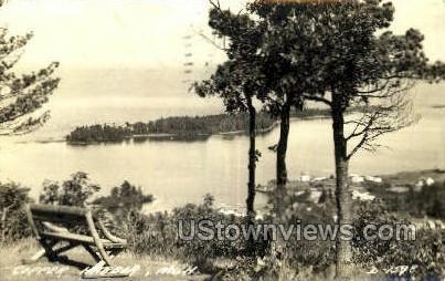 Copper Harbor, Michigan, MI, Postcard