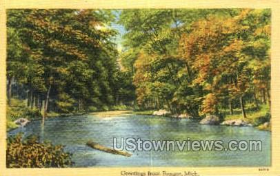 Bangor, Michigan, MI, Postcard
