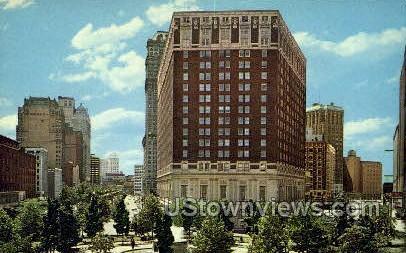 Statler Hilton - Detroit, Michigan MI Postcard